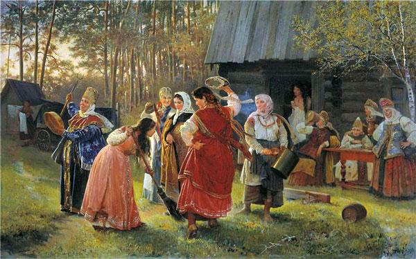 Древнеславянские верования. Выкуп невесты